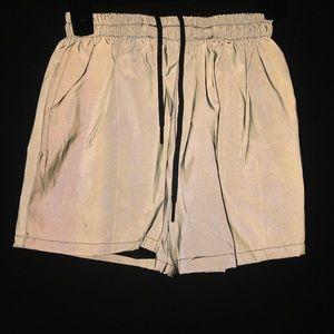 custom reflective 3m shorts